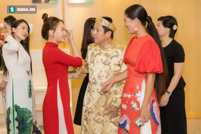 NSƯT Chí Trung, Bảo Thanh, Thu Quỳnh và nhiều nghệ sỹ nổi tiếng dâng hương giỗ Tổ nghề - Ảnh 5.