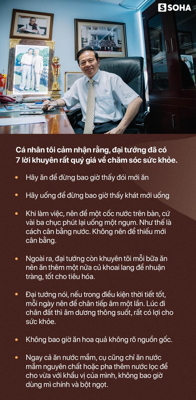 7 lời khuyên về sức khỏe của Đại tướng Võ Nguyên Giáp và bí quyết sống khỏe của Nguyên Bộ trưởng Lê Doãn Hợp - Ảnh 26.