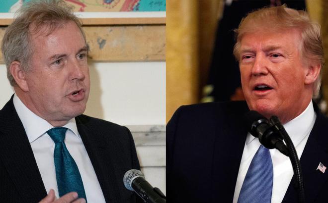 """Sự nghiệp xuống dốc sau khi nói ông Trump """"bất tài"""", đại sứ Anh bất ngờ được bổ nhiệm làm """"Quý tộc trọn đời"""""""
