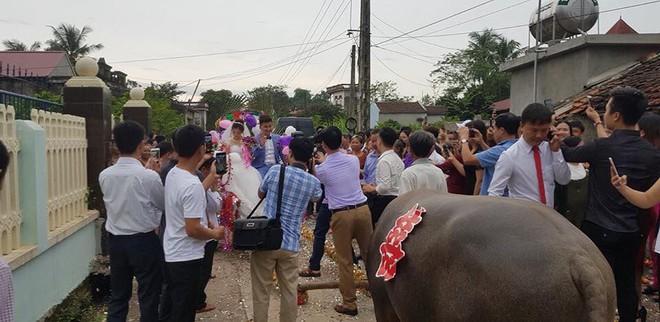 Trong ngày cưới, xe rước dâu của chú rể khiến cả xóm làng xôn xao, thích thú - ảnh 3