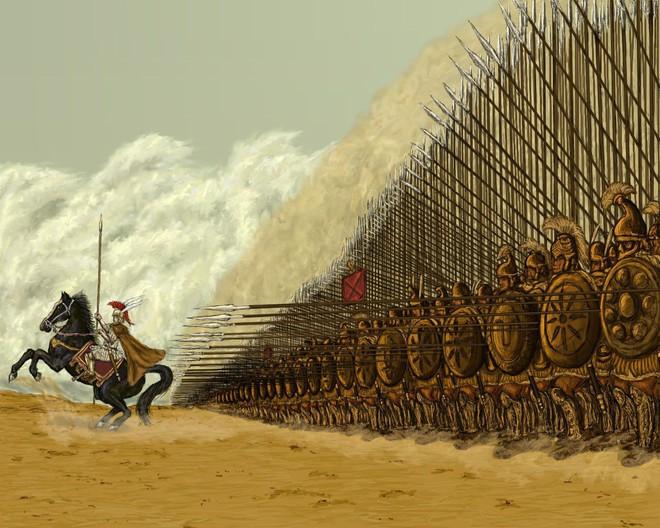 Nếu chưa biết tài dụng binh kiệt xuất của Alexander Đại đế, hãy xem trận đánh này của ông - Ảnh 8.