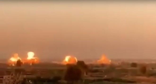 Su-35 Nga truy cản chiến đấu cơ Israel, bẻ gãy đợt tấn công lớn vào Syria - Bị tập kích, TTg Netanyahu khẩn cấp xuống hầm tránh bom - Ảnh 9.