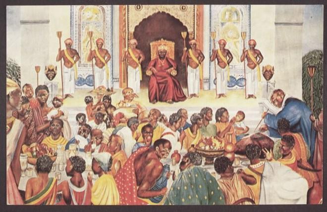 Định giá Vương quốc bằng chén gạo, ông Vua tham lam bị kẻ bán ngựa dạy cho bài học nhớ đời - Ảnh 1.