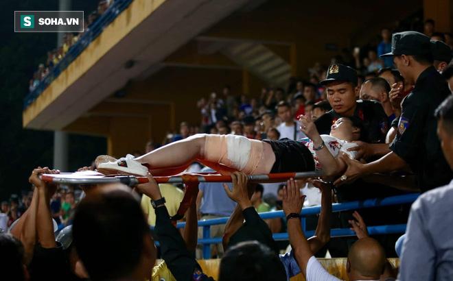 Luật sư: Đủ yếu tố truy cứu trách nhiệm hình sự CĐV Nam Định bắn pháo sáng gây thương tích