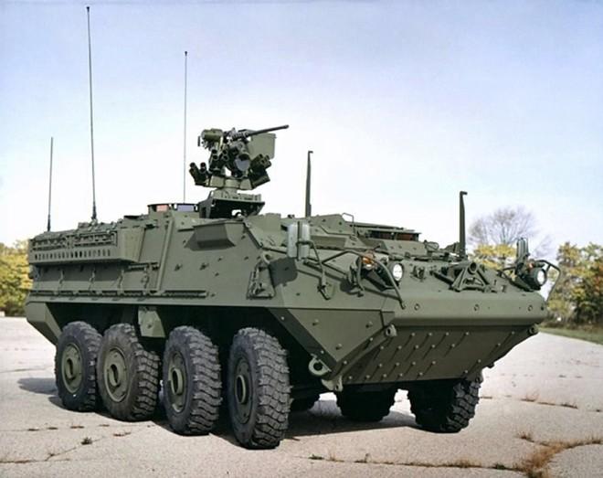 Quân đội Thái Lan tiếp nhận loạt xe bọc thép Stryker đầu tiên của Mỹ - ảnh 1