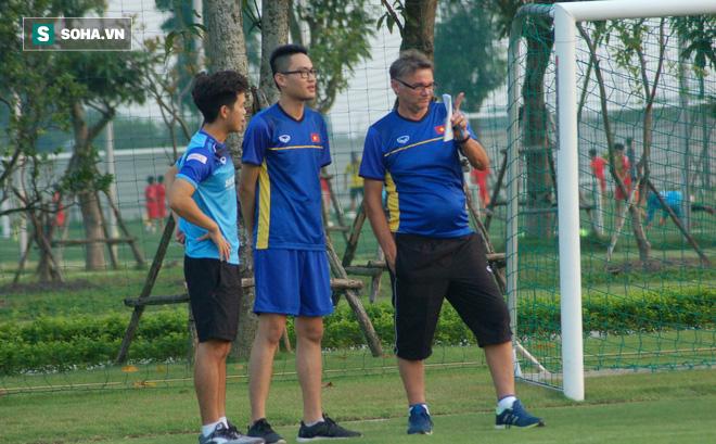 U19 Việt Nam lần đầu tập luyện dưới thời tân HLV đẳng cấp World Cup