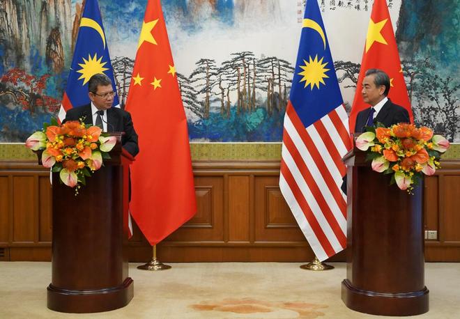 Biển Đông: Trung Quốc tiếp cận Malaysia - Ảnh 1.