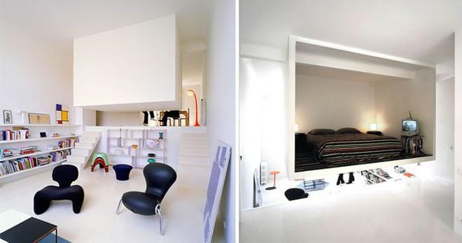 10 căn hộ nhỏ với thiết kế tinh xảo, nhiều người có nhà to cũng phải vật vã phát thèm - Ảnh 4.
