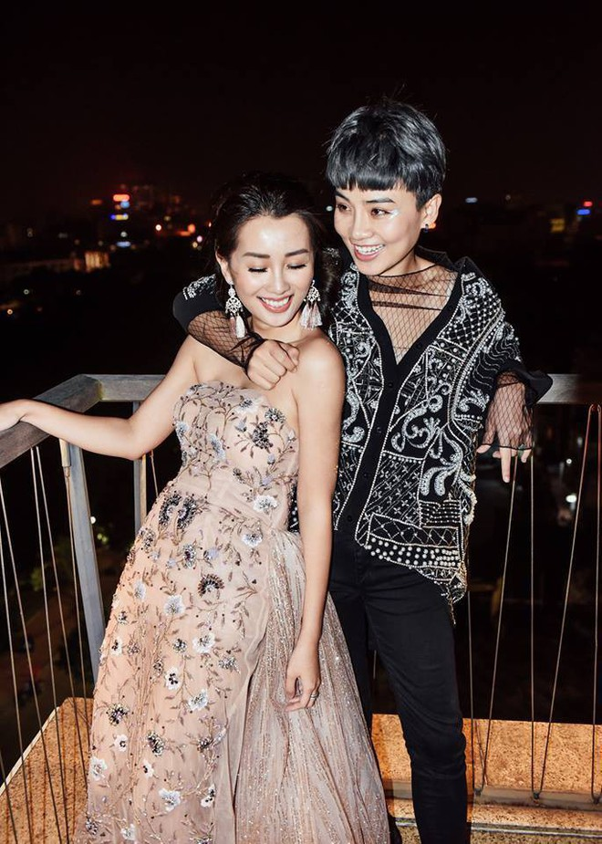 Không chỉ Hoàng Thùy Linh, hoa hậu, MC VTV cũng bị nghi yêu đồng giới - Ảnh 7.