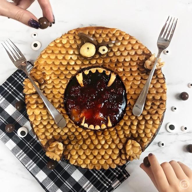 Những ổ bánh sinh ra mà không ai dám ăn: Đẹp thế này chỉ để ngắm thôi! - ảnh 11