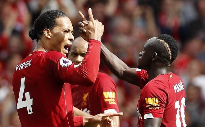 Sau 21 cú dứt điểm, Liverpool tiếp tục ngạo nghễ ở ngôi đầu Premier League