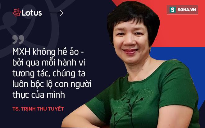 Tiến sĩ Trịnh Thu Tuyết: Tôi hy vọng năng lượng tích cực từ MXH Lotus sẽ thay đổi tâm lý người Việt - ảnh 2