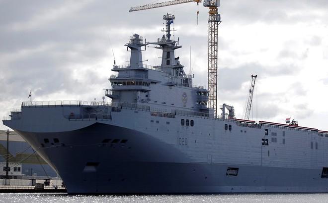 """""""Thành bại"""" tại Crimea: Bị Pháp từ chối phũ phàng, Nga vẫn """"lãi lớn"""" khi nắm trọn bí mật tàu sân bay?"""