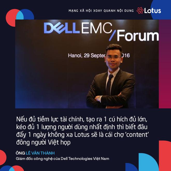 Giám đốc công nghệ Dell Technologies: Lotus là của người Việt phát triển, nên dễ dàng hiểu người Việt hơn - Ảnh 1.
