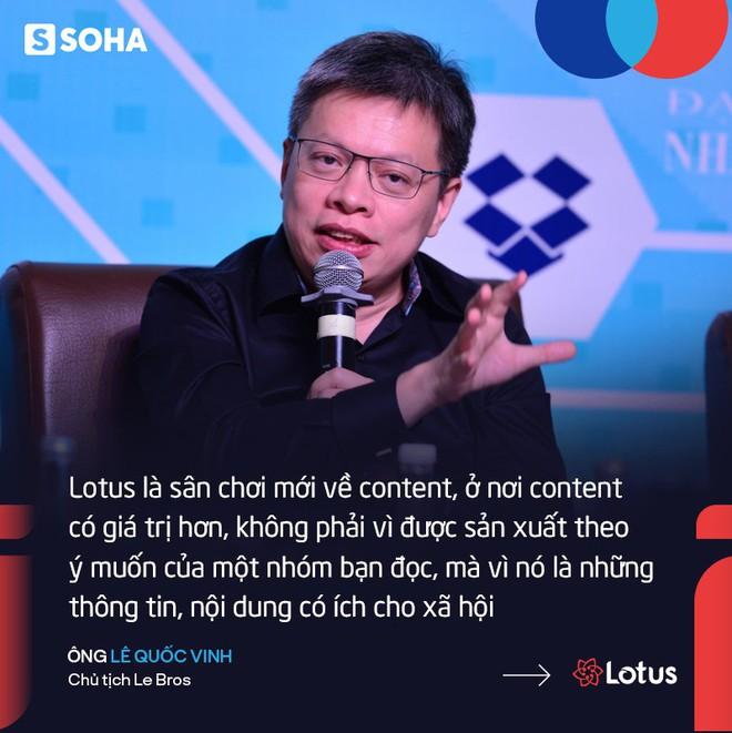 Giới doanh nhân và kỳ vọng đặc biệt vào Lotus - mạng xã hội Việt sắp ra mắt - Ảnh 2.