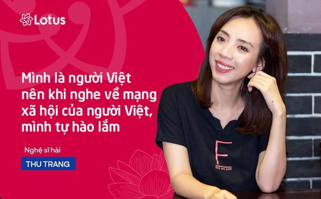 """Thu Trang: """"Với sự đầu tư có tâm và có tầm, tôi tin MXH Lotus sẽ đến được với nhiều người dùng"""""""