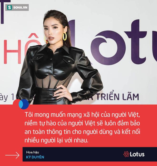 Phan Hoàng Thu khen nức nở mạng xã hội Lotus của Việt Nam, Huyền My, Đỗ Mỹ Linh thấy tò mò, hồi hộp - Ảnh 3.