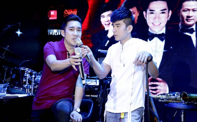 Đan Trường, Lệ Quyên không ngại trời mưa đến tập hát cùng Quang Hà