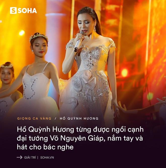 Hồ Quỳnh Hương: Đẳng cấp ca sĩ được ngồi hát ngay cạnh Đại tướng Võ Nguyên Giáp - Ảnh 6.