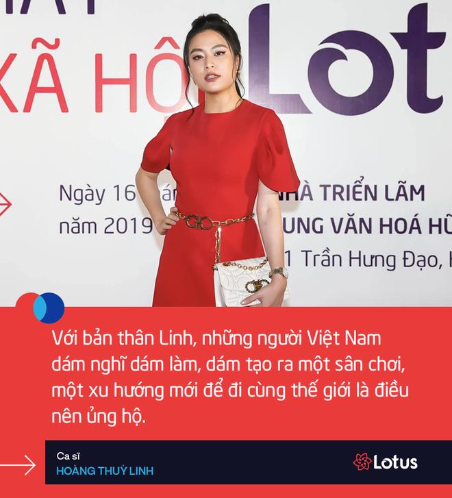 Hoàng Thuỳ Linh: Linh đã mở một tài khoản trên Lotus rồi - Ảnh 3.