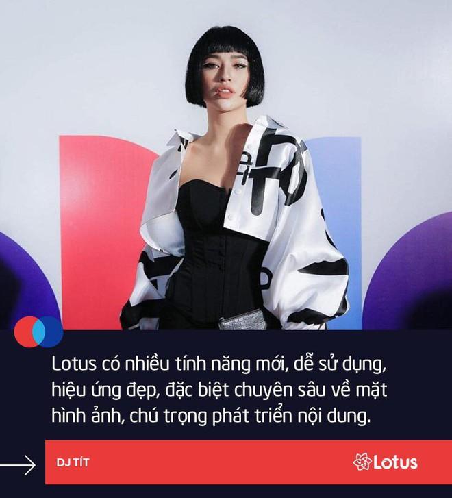 Hoàng Thuỳ Linh: Linh đã mở một tài khoản trên Lotus rồi - Ảnh 6.