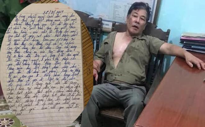 """Đoạn nhật ký nói """"không dám dùng dầu gội"""" được cho là của nghi phạm truy sát gia đình em gái"""