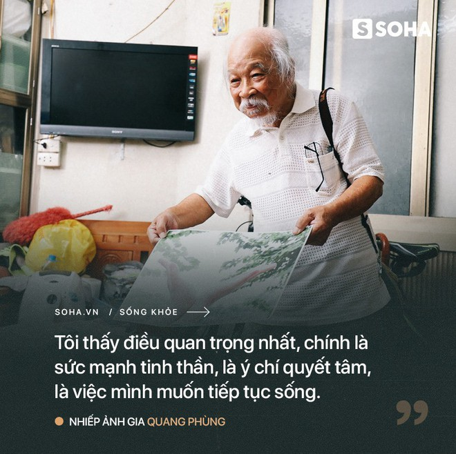 Tiên ông nhiếp ảnh U90 ở HN: Hồi sinh kỳ diệu sau cơn đột quỵ và bí quyết sống thọ ít ai ngờ - Ảnh 1.