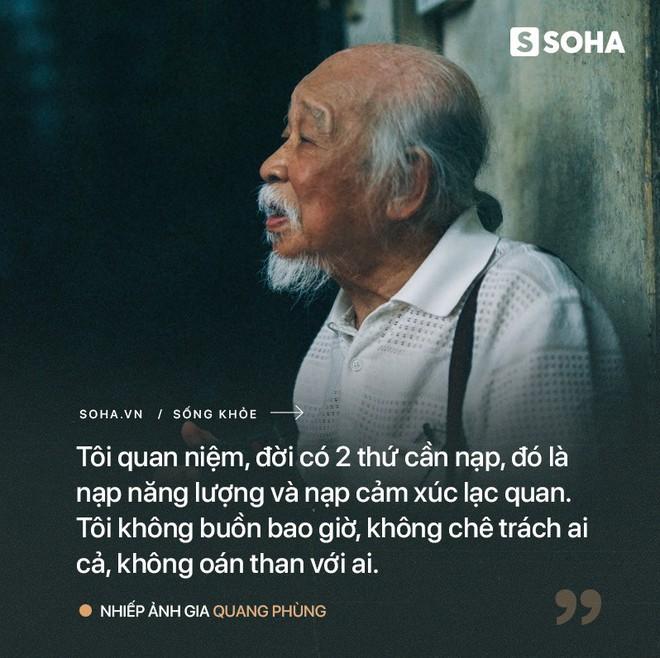 Tiên ông nhiếp ảnh U90 ở HN: Hồi sinh kỳ diệu sau cơn đột quỵ và bí quyết sống thọ ít ai ngờ - Ảnh 8.