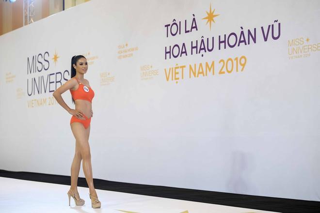 Dàn thí sinh vòng sơ khảo phía Bắc cuộc thi Hoa hậu Hoàn vũ Việt Nam 2019 diện bikini trình diễn vô cùng tự tin - Ảnh 9.