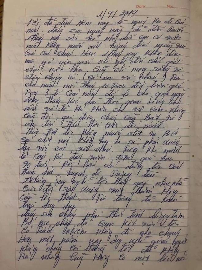 CA Thái Nguyên: Có thể trong lúc không đòi được nợ nên nghi phạm viết tâm thư trước khi gây ra thảm án - Ảnh 3.