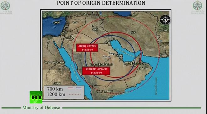 Ả Rập Saudi mở họp báo, tung bằng chứng cụ thể chứng minh Iran đứng sau vụ tấn công 2 cơ sở dầu mỏ - Ảnh 2.