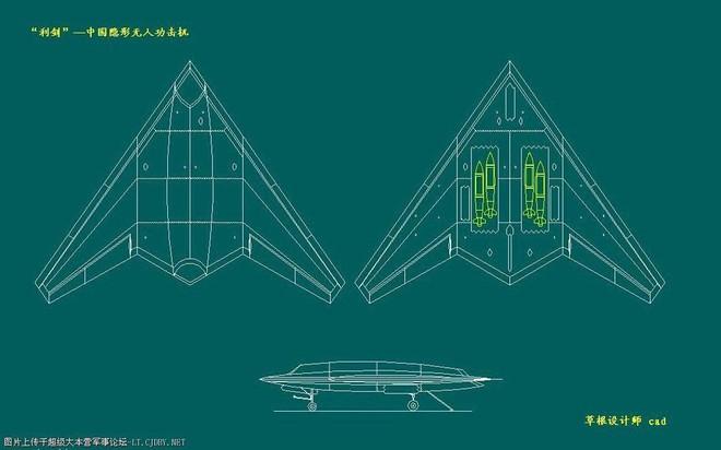 UAV Lợi Kiếm xuất hiện rầm rộ: TQ vạch áo cho người xem lưng yếu điểm của tàu sân bay? - Ảnh 4.