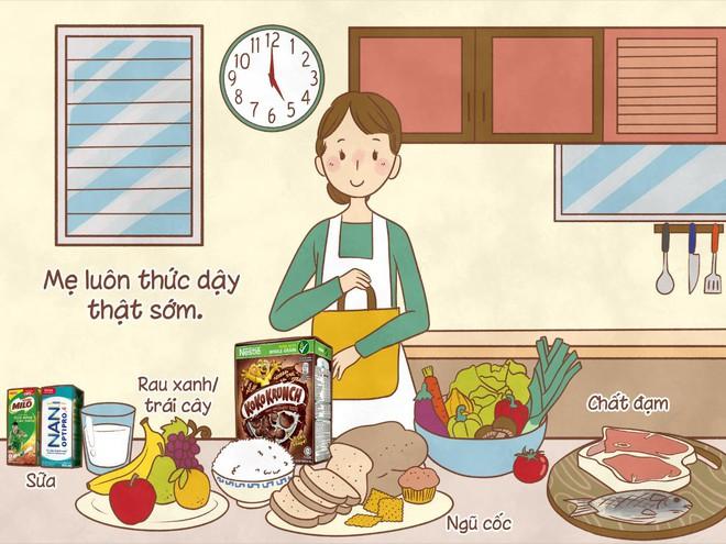 Bữa sáng không chỉ bổ sung dưỡng chất mà còn chứa đựng tình yêu thương của mẹ - Ảnh 2.