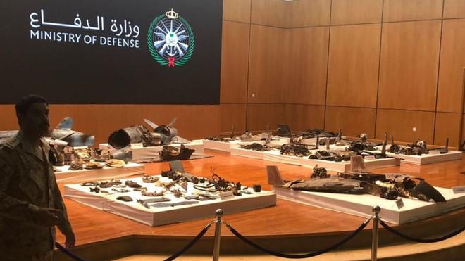 Ả Rập Saudi mở họp báo, tung bằng chứng cụ thể chứng minh Iran đứng sau vụ tấn công 2 cơ sở dầu mỏ - Ảnh 5.