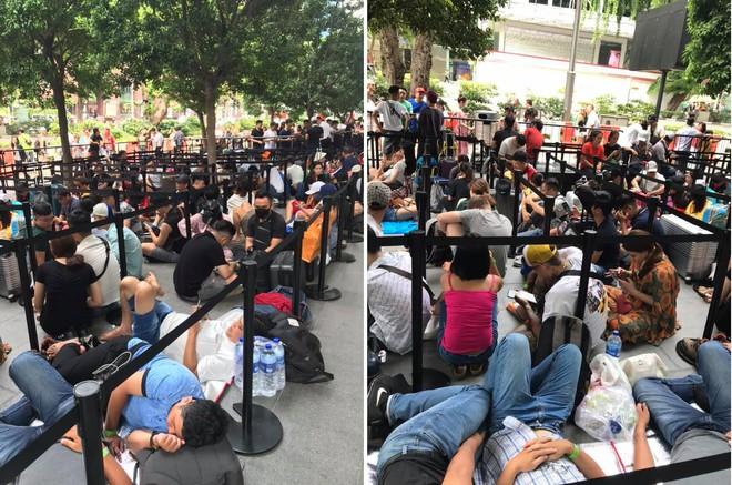Dân Việt đổ về Apple Store, mang theo vali xếp hàng trước giờ mở bán iPhone 11 - Ảnh 5.