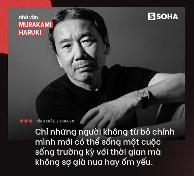 Nhà văn Nhật Haruki: Tâm an là chìa khóa, vận động là chất xúc tác để trẻ lâu, sống thọ - Ảnh 2.