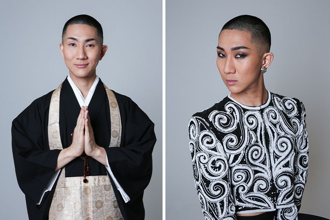 Cuộc đời hai mặt của Kodo Nishimura: Vừa là một bậc thầy trang điểm nổi tiếng, vừa là một tu sĩ thuộc giới tính thứ 3 - Ảnh 3.