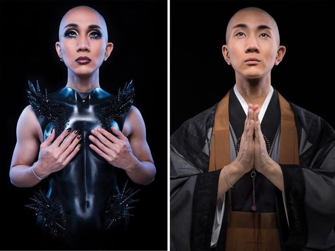 Cuộc đời hai mặt của Kodo Nishimura: Vừa là một bậc thầy trang điểm nổi tiếng, vừa là một tu sĩ thuộc giới tính thứ 3 - Ảnh 4.