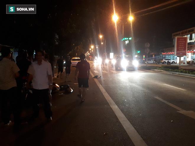 Chủ nhiệm UBKT Đảng ủy khối cơ quan và doanh nghiệp Hà Tĩnh lái ô tô tông 2 thanh niên nguy kịch - Ảnh 1.