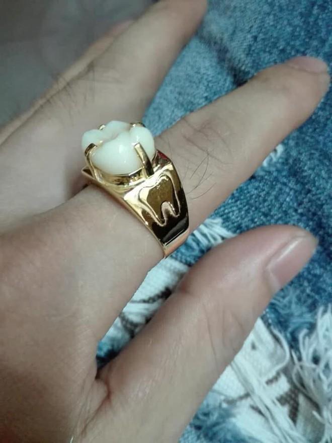 Người phụ nữ mang chiếc răng đi làm mặt nhẫn, câu chuyện đằng sau khiến nhiều người xanh mắt - ảnh 3