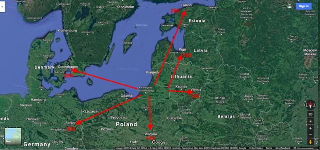 Mỹ sẽ nghiền nát hệ thống PK Nga ở Kaliningrad: S-300 hay S-400 cũng tan xác! - Ảnh 1.