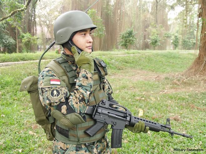 Chiến sĩ gìn giữ hòa bình Việt Nam huấn luyện sử dụng súng trường Pindad SS2 tối tân - Ảnh 13.