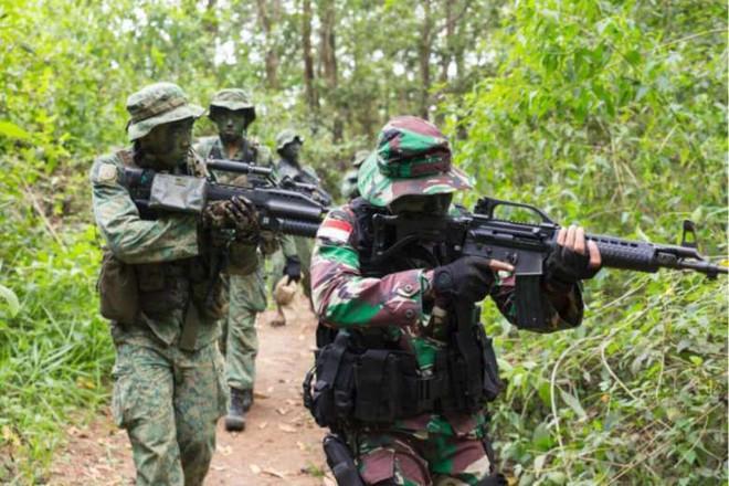 Chiến sĩ gìn giữ hòa bình Việt Nam huấn luyện sử dụng súng trường Pindad SS2 tối tân - Ảnh 14.