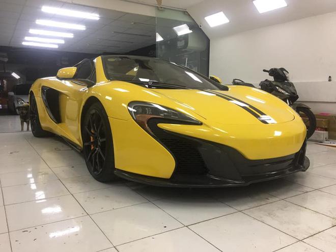 McLaren 650S Spider màu vàng thứ hai xuất hiện tại Việt Nam, sự thật phía sau gây ngạc nhiên - Ảnh 3.