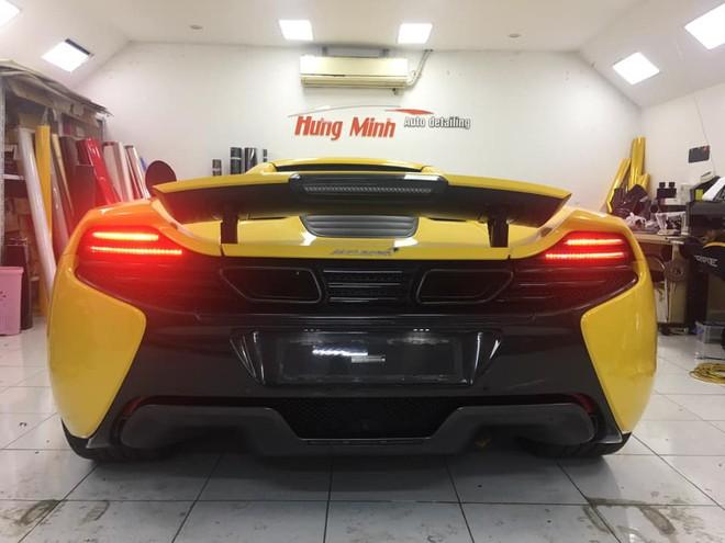 McLaren 650S Spider màu vàng thứ hai xuất hiện tại Việt Nam, sự thật phía sau gây ngạc nhiên - Ảnh 5.