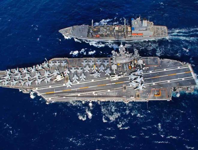 Nếu nghênh chiến, tàu sân bay Mỹ sẽ thắng Trung Quốc - Chuyên gia Nga nhận định - Ảnh 9.