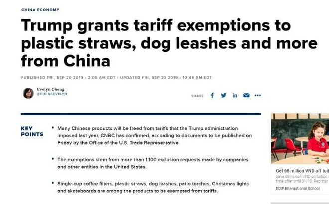Mỹ vừa nới thuế với dây xích chó Trung Quốc thì bị Bắc Kinh hủy kèo nông sản - Ảnh 1.
