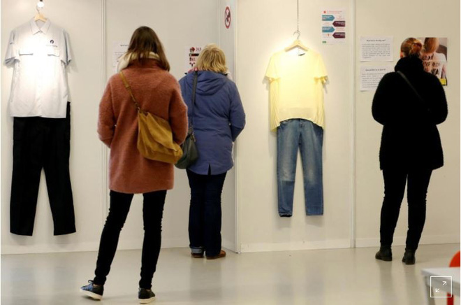 Bỉ mở triển lãm những trang phục của nạn nhân hiếp dâm để chứng minh việc ăn mặc thế nào không hề là nguyên nhân khiến phụ nữ bị cưỡng bức - Ảnh 9.
