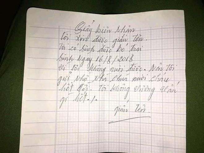 Người mẹ bỏ rơi con trai ở cửa chùa, để lại bức thư: Tôi không vương vấn gì hết - Ảnh 5.