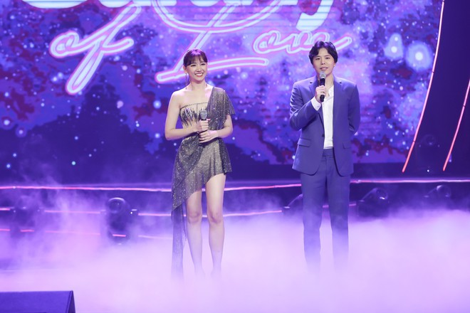 Hari Won bật khóc trước hàng ngàn khán giả - Ảnh 8.